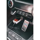 FM - трансмиттер TORSO, 12 В, USB/Mp3/WMA/AUX/MicroSD, МИКС