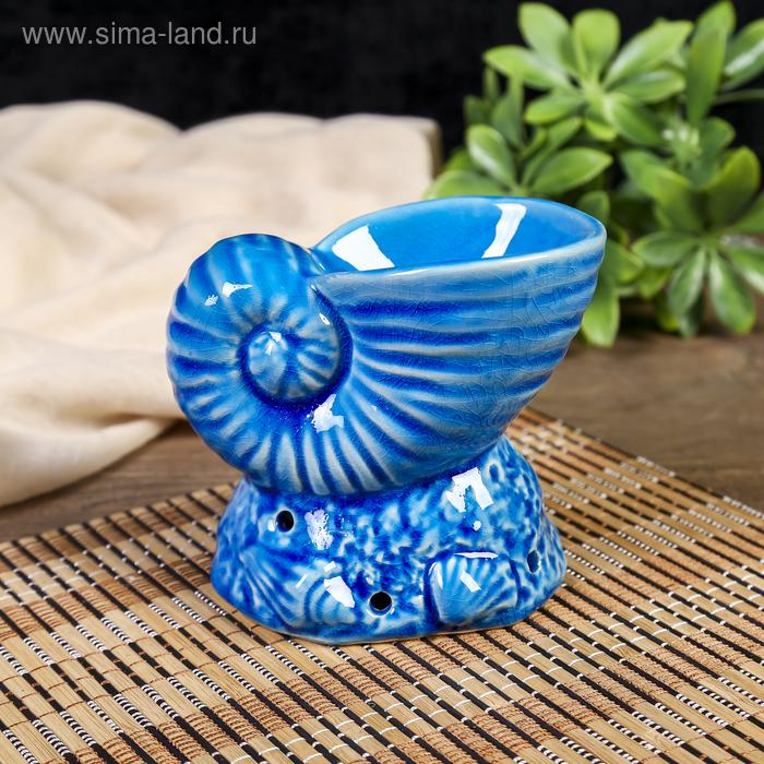 """Аромалампа керамика """"Ракушка"""" МИКС 10х8х8 см"""