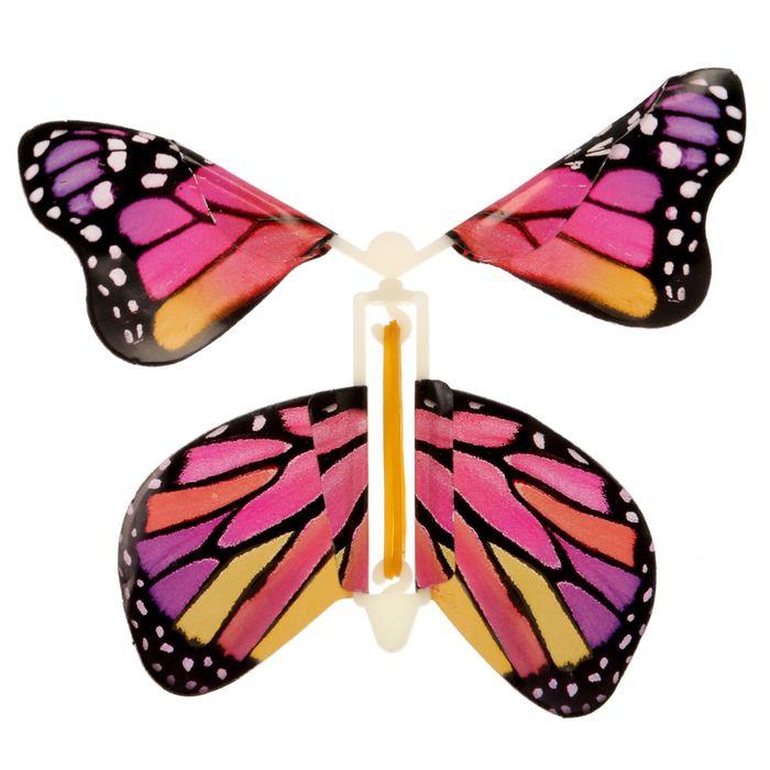 Летающая открытка бабочка