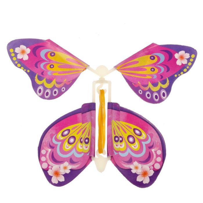 Открытки, летающая бабочка в открытку