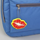 Светоотражающий элемент «Поцелуй», 7 × 5,5 см, цвет красный/жёлтый - фото 396898