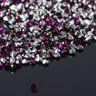 Стразы (набор 10грамм), 2мм, цвет фиолетовый №10