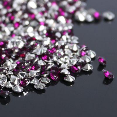 Стразы (набор 10грамм), 3мм, цвет фиолетовый №10