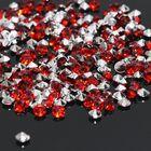 Стразы (набор 10грамм, 300шт), 4мм, цвет тёмно-красный №19