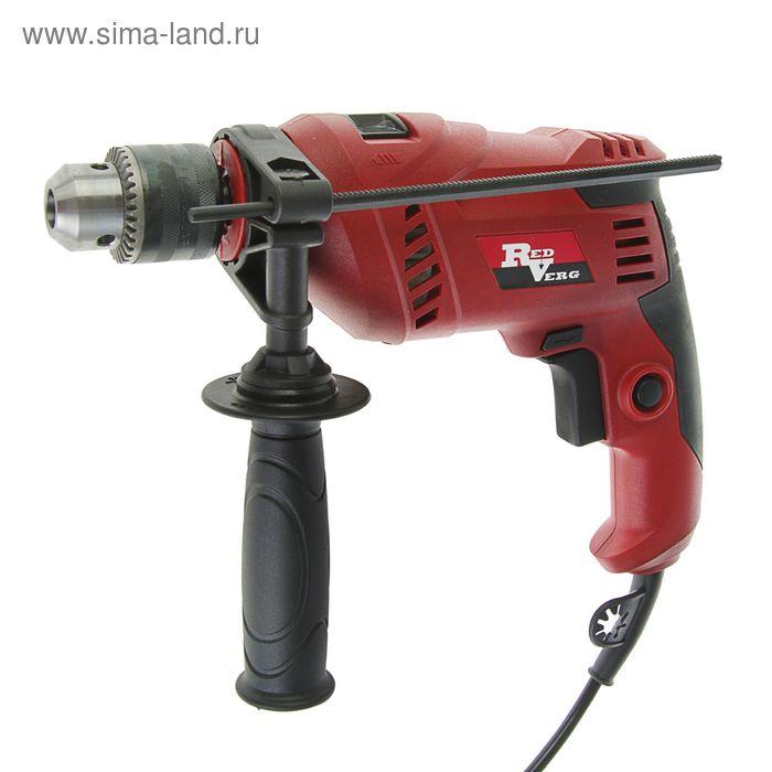 Дрель ударная RedVerg RD-ID550, 550Вт; 3000об/мин; ЗВП, 1.5-13мм; реверс