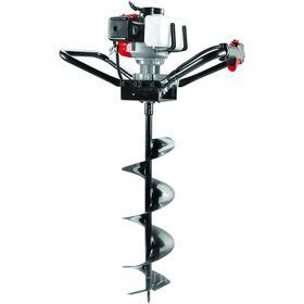 Мотобур RedVerg RD-EA490, 2.2 л.с., шнек 80-250 мм, d=20мм, 7500 об/мин, 1.2л, БЕЗ ШНЕКА