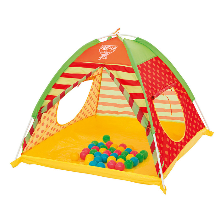 Палатка детская для игр с 40 шариками 112х112х90 см (68080)