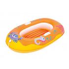 Надувная лодочка «Крабики» 135х89см, от 3-10 лет, цвет МИКС