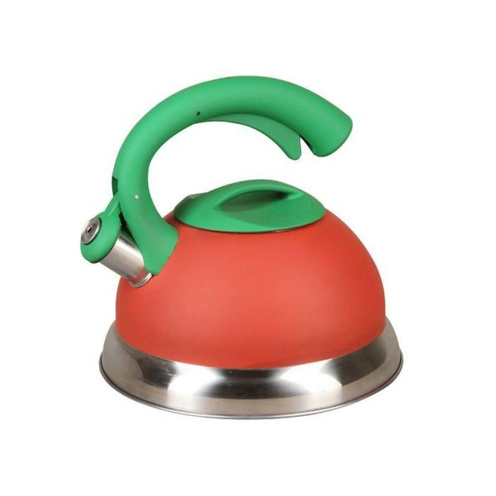 Чайник 3л со свистком сталь