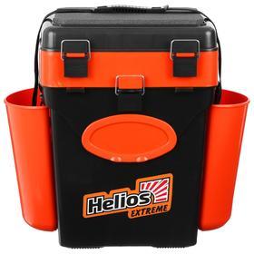 Ящик зимний Helios FishBox 10л, цвет оранжевый Ош