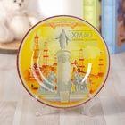 "Decorative plate ""KhMAO"", 20 x 20 cm"
