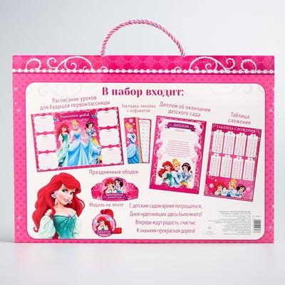 """Подарочный набор выпускнице дет. сада """"Принцессы"""", 6 предм., 32,5 х 23,5 см"""