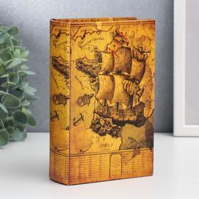 """Safe-book leather """"Sea cruise"""""""