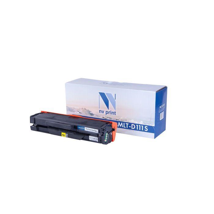 Картридж NV PRINT MLT-D111S для Samsung Xpress M2020/W/M2070/W/FW (1000k), черный