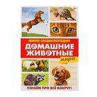 Мини-энциклопедия «Домашние животные мира», 20 страниц