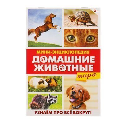 Мини-энциклопедия «Домашние животные мира», 20 стр.