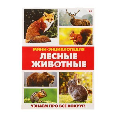 Мини-энциклопедия «Лесные животные», 20 стр.