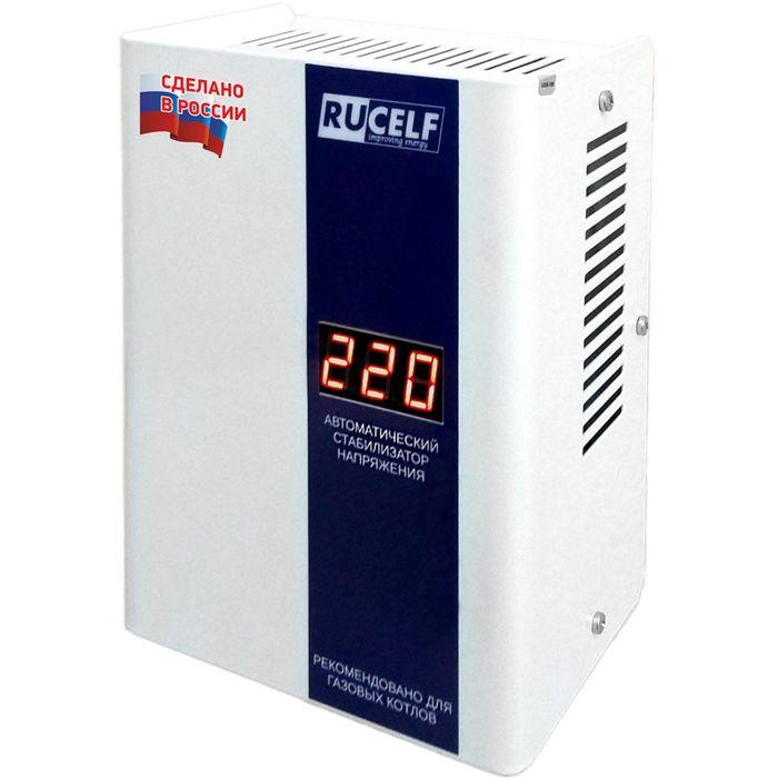 Стабилизатор напряжения КОТЕЛ-1200, релейный, точность +/- 8%, 1200 ВА, для котлов