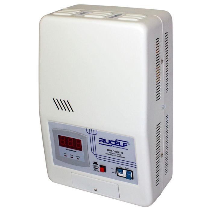 Стабилизатор напряжения RUCELF SRW-10000-D, релейный, точность +/- 6%, 10000 ВА