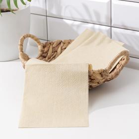 Салфетки для кухни из бамбука 30×38 см Grifon, 3 шт, цвет салатовый