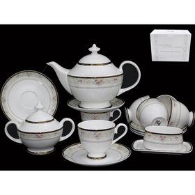 Чайный сервиз «Лагуна» 18 предметов, в подарочной упаковке