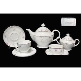 Чайный сервиз 18 предметов «Английский сад», в подарочной упаковке