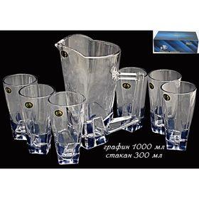 Набор Iceberg графин и 6 стаканов, в подарочной упаковке