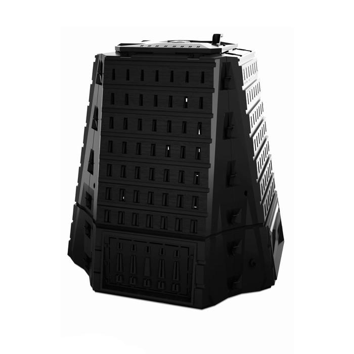 Компостер Biocompo, 900 л, пластик, чёрный