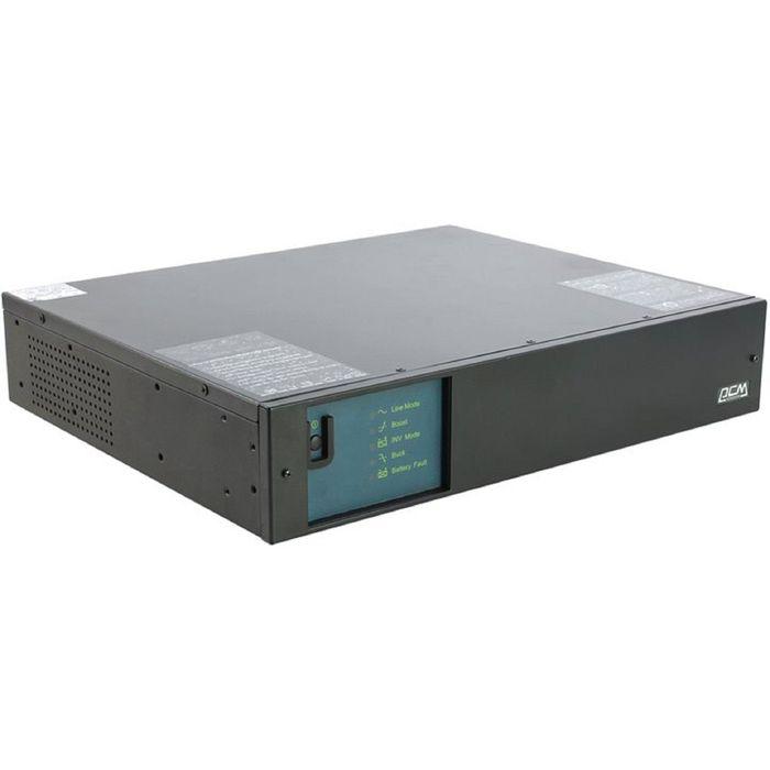 Источник бесперебойного питания Powercom King Pro RM KIN-1500AP, 900 Вт, 1500 ВА, черный