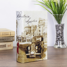 """Safe-the book of silk """"a Journey to old London town"""""""
