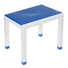 Стол детский, 600х500х490 мм, цвет синий