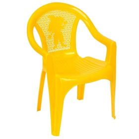 Кресло детское, 380х350х535 мм, цвет жёлтый Ош