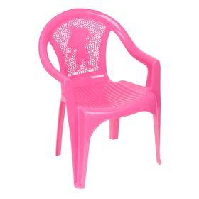 Кресло детское, 380х350х535 мм, цвет розовый Ош