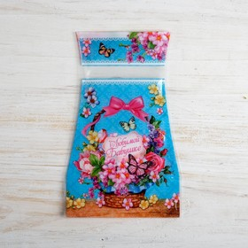 "Пакет для цветов (ваза) ""Любимой Бабушке"""