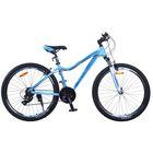 "Велосипед 26"" Stels Miss-6000 V, 2017, цвет голубой, размер 15"""
