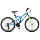"Велосипед 24"" Stels Mustang V, 2017, цвет синий, размер 16"""