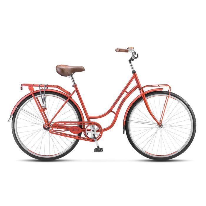 """Велосипед 28"""" Stels Navigator-320 Lady, 2017, цвет красный, размер 19,5"""""""