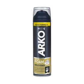 Пена для бритья Arko Men Gold Power, 200 мл