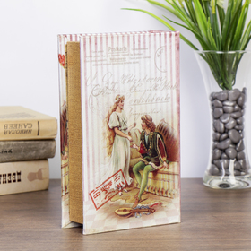 "Safe-the book of silk ""Cinderella"" embossed"