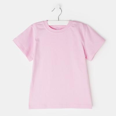 Футболка для девочки, цвет розовый, рост 128-134 см (36)