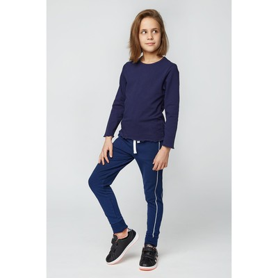 Джемпер для девочки, рост 146-152 см (42), цвет синий