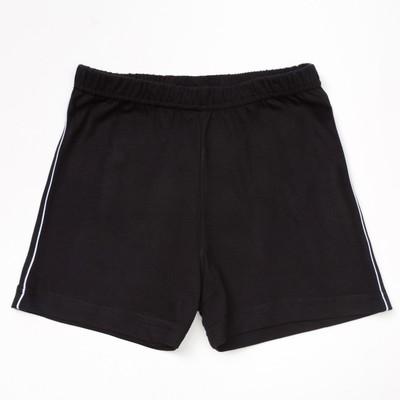 Шорты для мальчиков, чёрный, 146-152 см (42)
