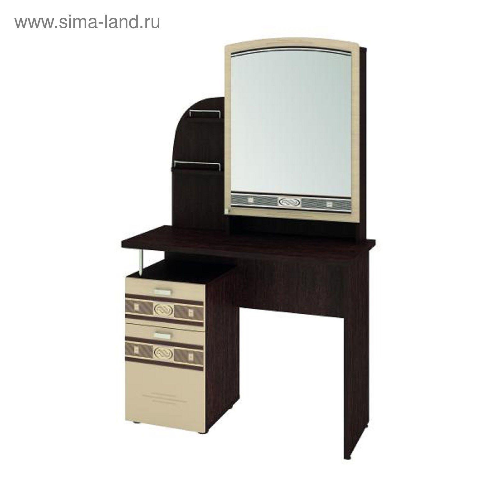 туалетный столик с зеркалом орхидея 410 венгебеленый дуб 1965829