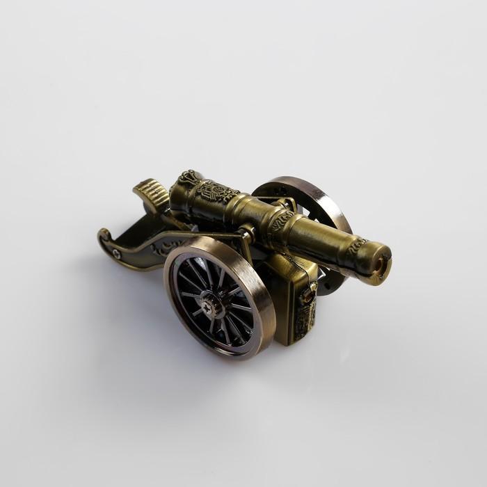 """Зажигалка """"Пушка"""", пьезо, газ"""