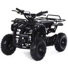 Квадроцикл детский бензиновый MOTAX ATV Х-16 Мини-Гризли, черный, электростартер и родительский пульт