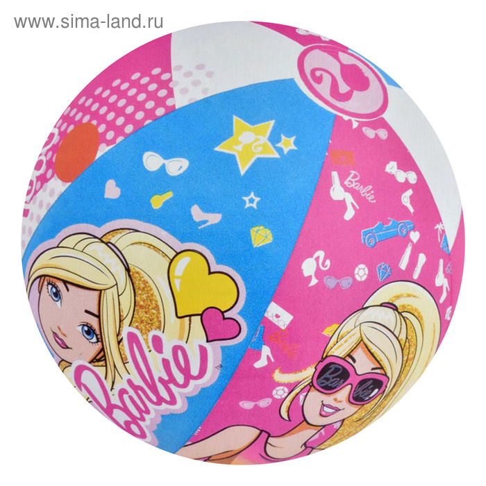 Мяч пляжный Barbie 51 см, от 2 лет (93201)