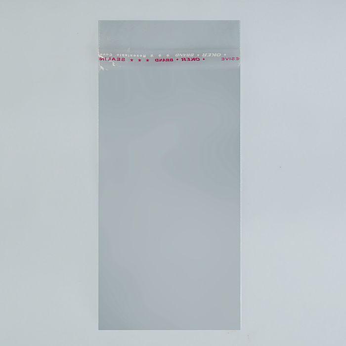 Пакет с липкой лентой 6.5 х 10/5 см, 25 мкм