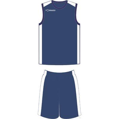 Форма баскетбольная 2XL TORNADO T713 5001 SET