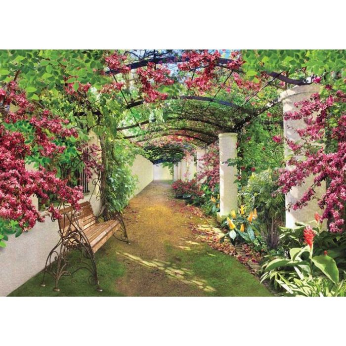 Фотообои Цветущая галерея ЛЮКС 2,72х1,94 м (из 8 листов)
