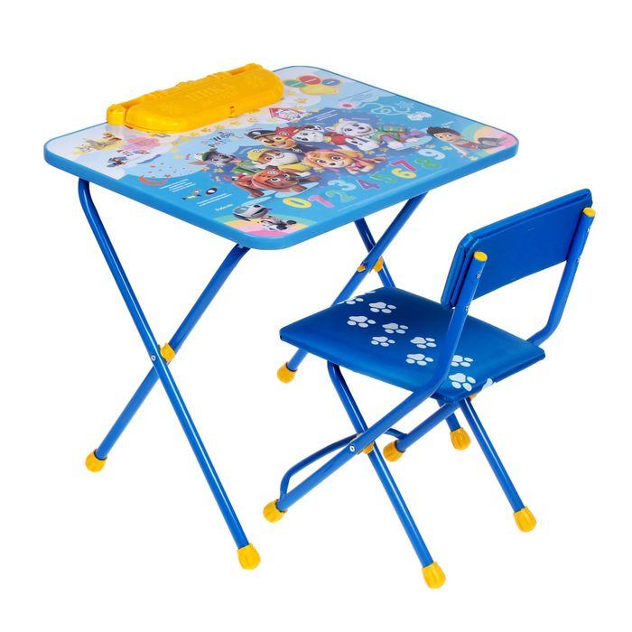 """Набор мебели """"Щенячий патруль"""" стол, стул мягкий"""